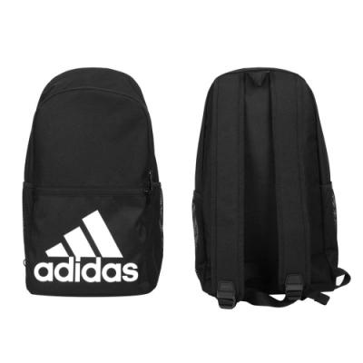 ADIDAS 大型後背包-肩背包 雙肩包 旅行包 大LOGO 愛迪達 GL8508 黑白