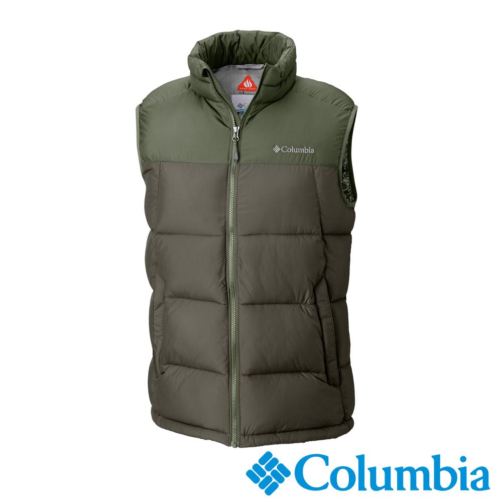 Columbia哥倫比亞 男款-Omni-HEAT保暖背心-苔綠UWO00180LC