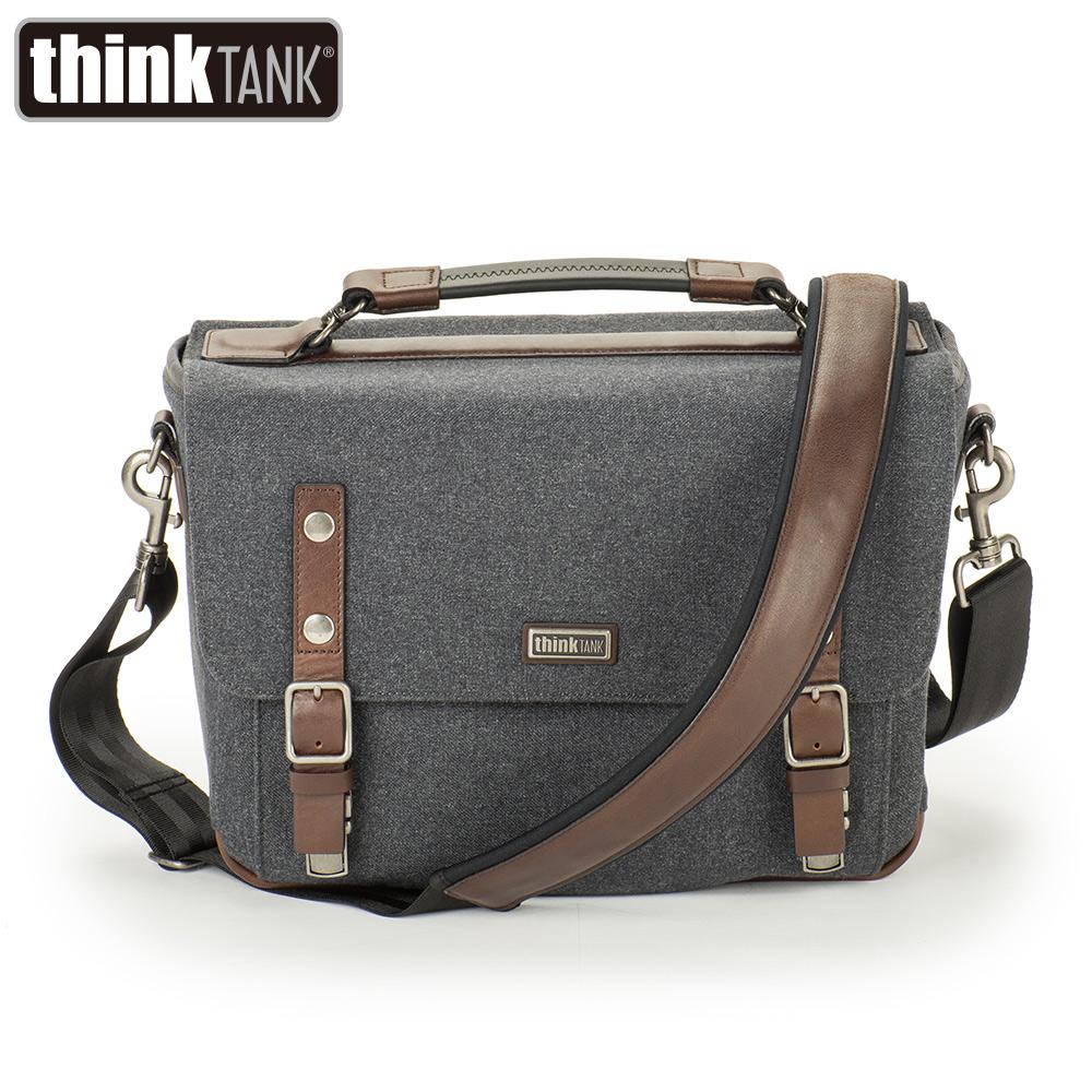 thinkTank 創意坦克 Signature 10 尊爵系列郵差包 相機包-板岩灰