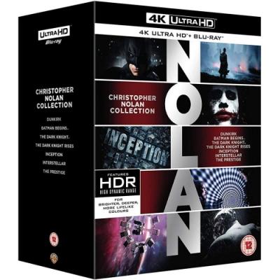 克里斯多福諾蘭 4K UHD + BD + BONUS ( 七部電影 21碟 )