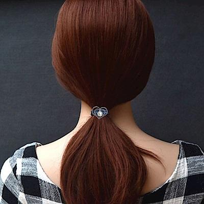 Hera 赫拉 小清新灰藍珍珠造型髮圈2入組-4款