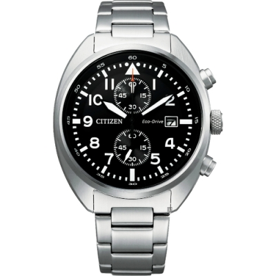 CITIZEN 星辰 光動能計時手錶-41mm(CA7040-85E)