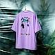FILA #Back To Nature 短袖圓領T恤-紫色 1TEV-1229-PL product thumbnail 1