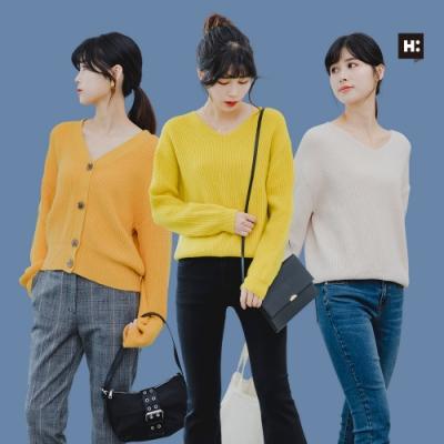 [時時樂限定]H:CONNECT 女裝 –精選針織系列-四款