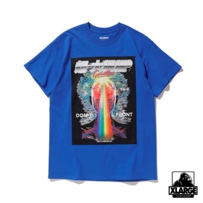 XLARGE S/S TEE SPECTRUM短袖T恤-藍