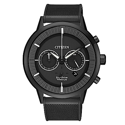CITIZEN 時空超人超級鈦光動能腕錶/CA4405-17H
