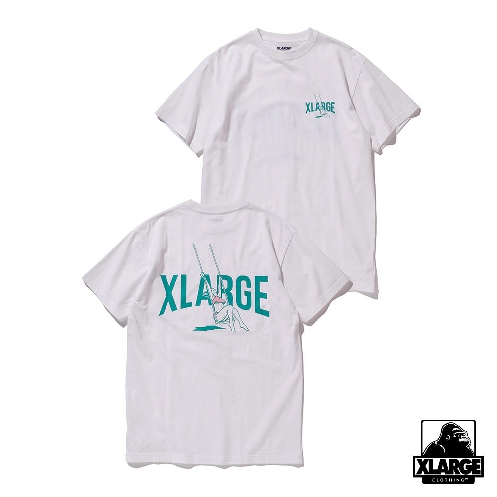 XLARGE S/S TEE SWING短袖T恤-白