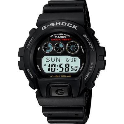 CASIO 卡西歐 G-SHOCK 太陽能電力手錶 G-6900-1