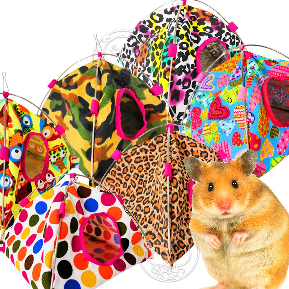 dyy》倉鼠|小鸚鵡保暖帳篷睡袋蒙古包22*22cm(顏色隨機出貨)