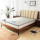 時尚屋 莎曼撤防潑水蜂巢二線6尺加大雙人獨立筒彈簧床墊