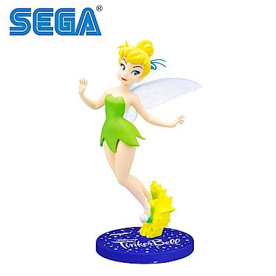日本正版 SEGA 奇妙仙子 公仔 小仙女 叮噹 公仔 彼得潘 迪士尼  260553