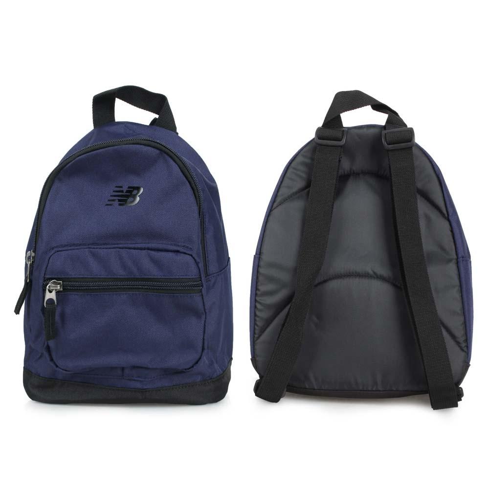NEWBALANCE 小型後背包-肩背包 雙肩包 旅行包 NB LAB91022TNV 丈青黑