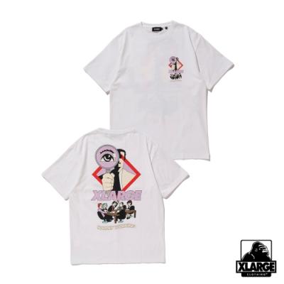XLARGE S/S TEE CONVERSATION短袖T恤-白