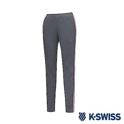 K-Swiss Jersey Pants 韓版運動長褲-女-灰