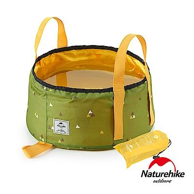 Naturehike耐磨折疊儲水盆 童趣系列16L附收納袋 草木綠 -急