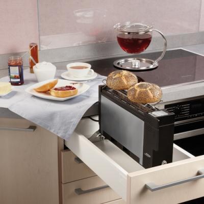 德國原裝 ritter ET10 超精巧內嵌式烤麵包美型機