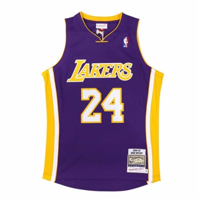 M&N Authentic球員版復古球衣 湖人隊 06-07 #24 Kobe Bryant