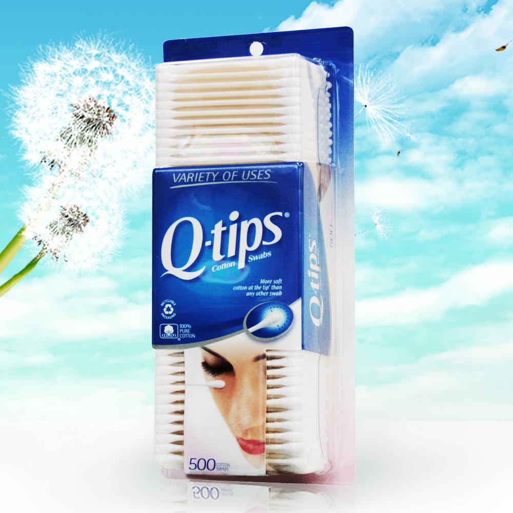 美國Q-tips 紙軸棉花棒(500支)