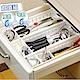 【家適帝】日式萬用隔板分類收納盒 (超值組 寬款*6+窄款*6) product thumbnail 1