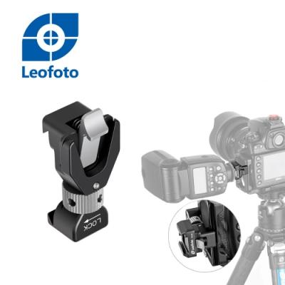 Leofoto 徠圖 FA-16閃光燈冷熱靴自動鎖緊快拆夾座(L板專用)