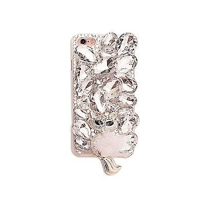 DDPOP iPhone 7 Plus 韓流明星彩鑽手機殼 冰鑽雪狐款 @ Y!購物
