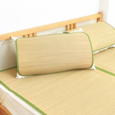 亞曼達Amanda 涼夏香石草枕蓆/藺草枕蓆/涼蓆(2入) -快速到貨