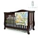 L.A. Baby伯蘭特美式四合一嬰兒成長床/嬰兒床(獨立筒彈簧床墊+小護欄)2色 product thumbnail 1