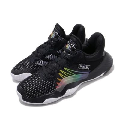 adidas 籃球鞋 DON Issue 1 運動 女鞋 愛迪達 蜘蛛人 明星 彩虹 漸層 大童 黑 彩 EG6566