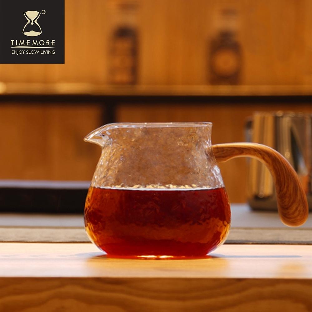 TIMEMORE泰摩 錘目紋玻璃咖啡分享壺-有柄
