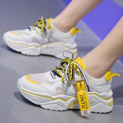 韓國KW美鞋館-(預購)親密接觸老爺鞋運動鞋(彈力 輕量  耐磨 休閒鞋)(共3色)