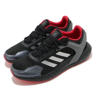 adidas 慢跑鞋 Alphatorsion Boost 男鞋 愛迪達 RTR 運動休閒 路跑 緩震 穿搭 黑 銀 GZ7542