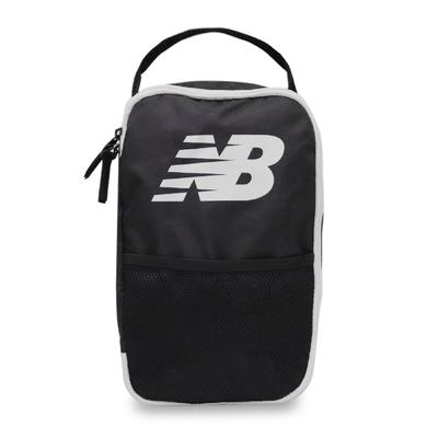 New Balance 鞋袋 NB Shoes Bag 男女款 紐巴倫 手提 外出 旅遊 健身 慢跑 黑 白 LAB13149BK