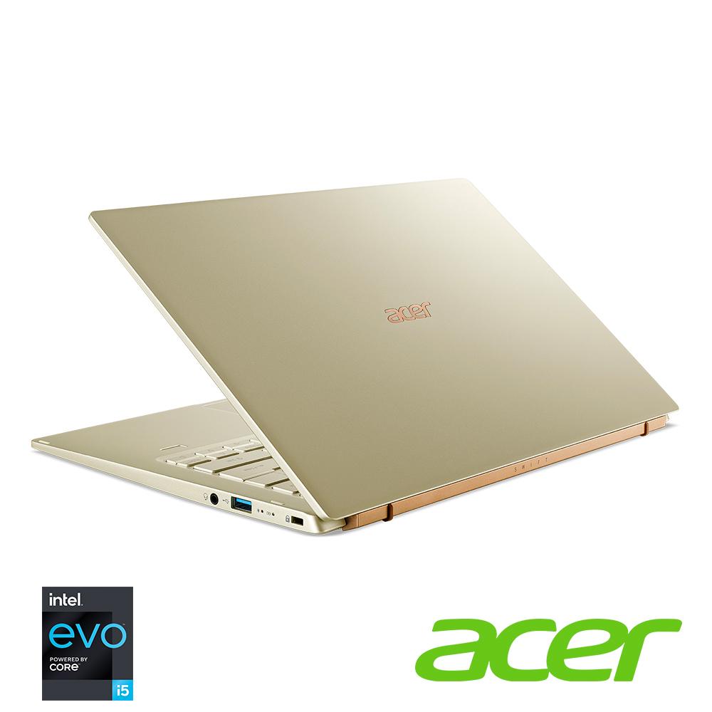(福利品)Acer SF514-55T-56MP 14吋筆電(i5-1135G7/8G/金)