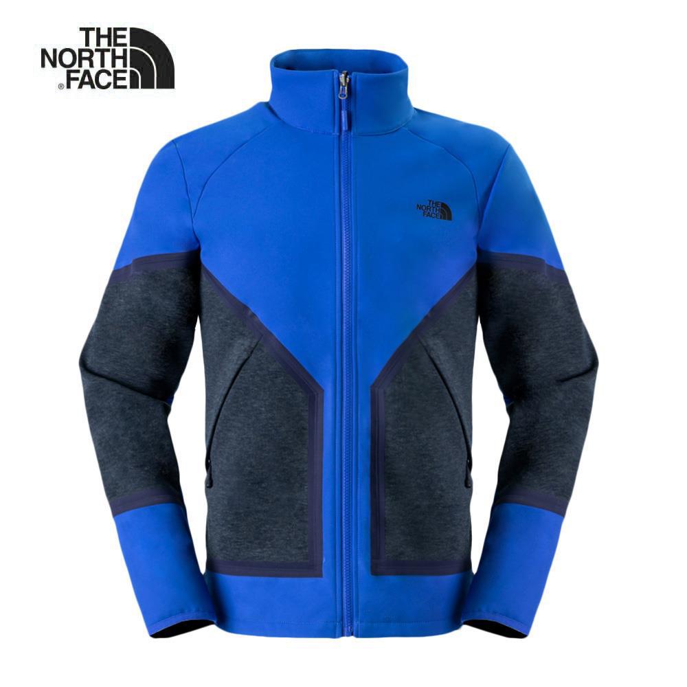 The North Face北面男款藍灰撞色防水透氣風衣|3L8GA83