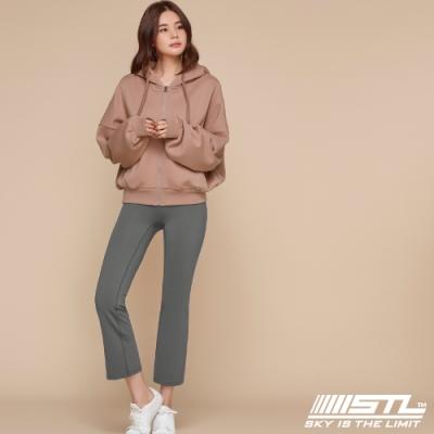 STL YOGA METRO NY 9 韓國瑜珈 地鐵合身小喇叭 運動機能訓練長褲 影子灰