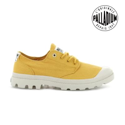 PALLADIUM PAMPA OX ORGANIC有機低筒鞋-中性-黃