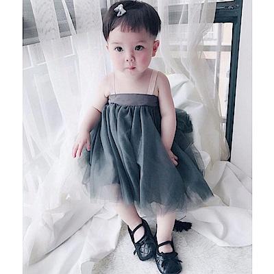 Baby unicorn 兩穿式無袖紗裙洋裝