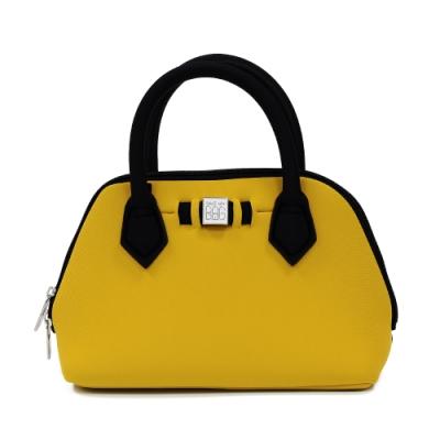 SAVE MY BAG 義大利品牌 PRINCESS MINI系列 太陽黃超輕量迷你手提包