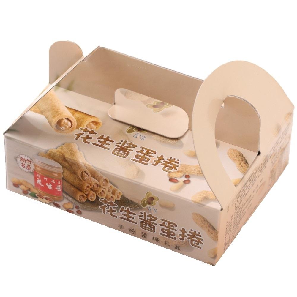 新竹福源  花生醬蛋捲320g-2入組