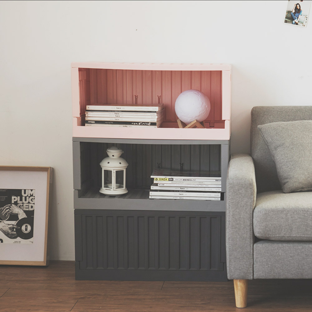 Home Feeling 收納椅/收納箱/貨櫃(7色)-64X32X30