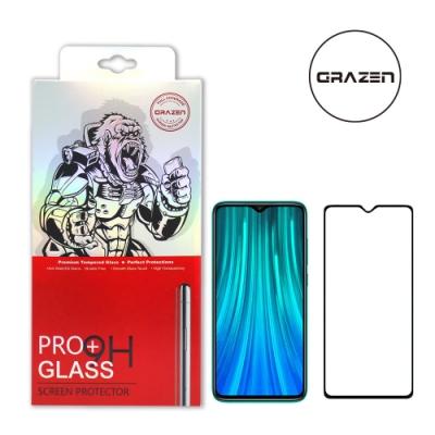【格森GRAZEN】紅米NOTE 8 PRO滿版(黑)鋼化玻璃