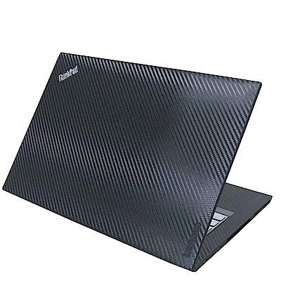 EZstick Lenovo ThinkPad T 480  專用 Carbon立體紋機身膜