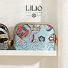LiliO  收納包 印度藝術植   M Toiletry Bag Wedgewood