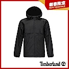 Timberland 男款黑色休閒連帽防水外套 A1Y5F