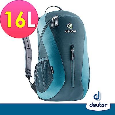 德國DEUTER City Light 16L運動休閒旅遊後背包80154藍灰藍