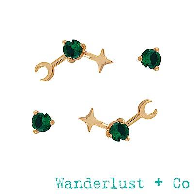 Wanderlust+Co 生日石系列- 五月耳環