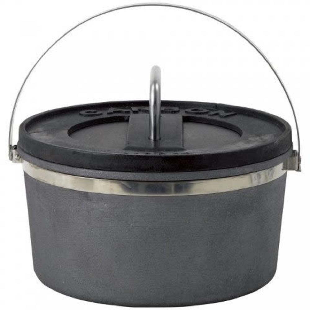 LOGOS #81062200 CARBON 10吋碳素輕量荷蘭鍋