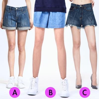 [時時樂限定]BRAPPERS 女款 涼爽翹臀修身短褲(三款選)