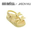 Mini Melissa + JASON WU 蝴蝶結寶寶涼鞋-黃色