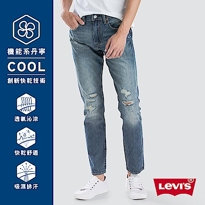 Levis 男款 上寬下窄 512 Taper 低腰 Cool Jeans